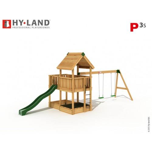 HY LAND P3 sa ljuljaškom - nacrt