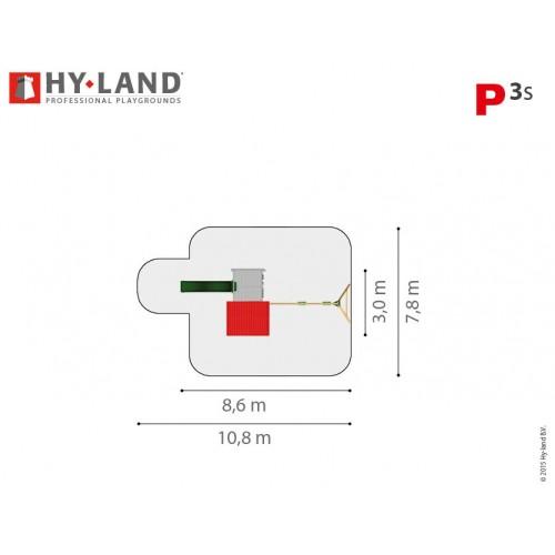 HY LAND P3 sa ljuljaškom - top