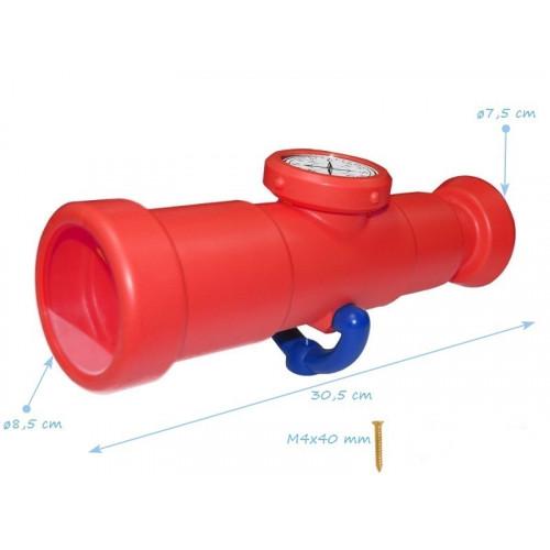 Plastični teleskop sa kompasom