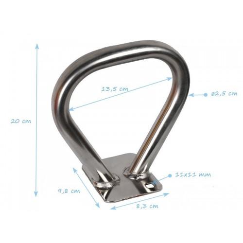 Metalna drška za klackalicu - Dimenzije