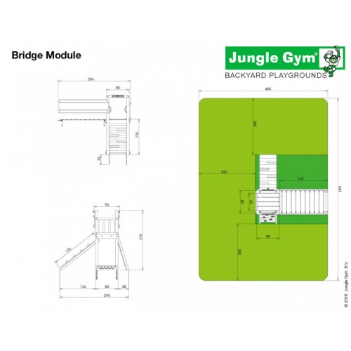 Bridge Modul - Dimenzije