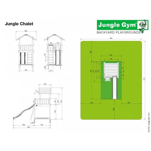 Jungle Chalet - Dimenzije