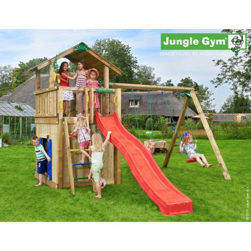chalet+playhouse145+2swing