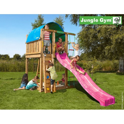 Jungle Villa - Tobogan pink