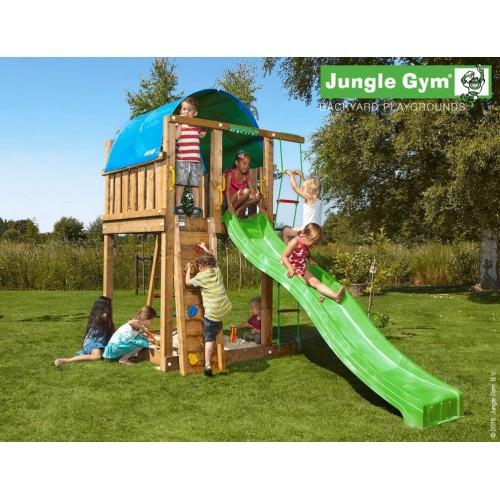 Jungle Villa - Tobogan zeleni