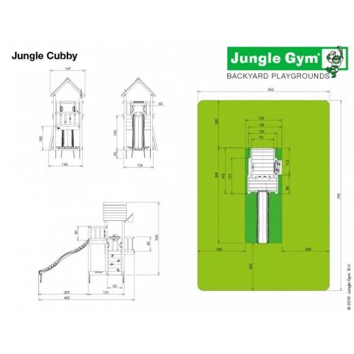 Jungle Cubby - Dimenzije