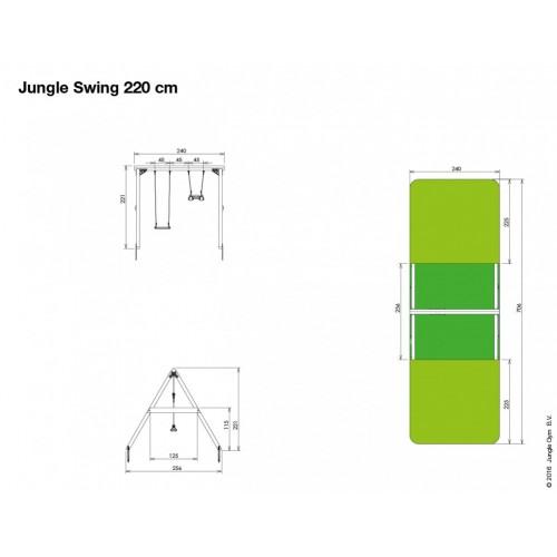 Jungle Swing 220 - Nacrt