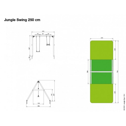 Jungle Swing 250 - Nacrt