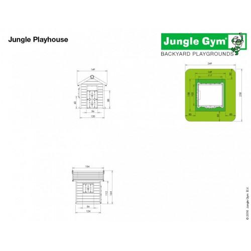 Jungle Playhouse - Dimenzije