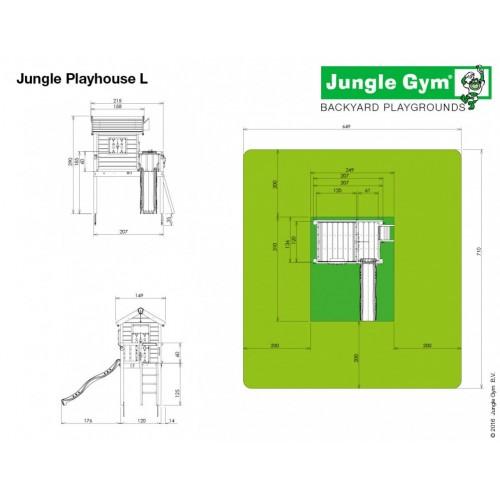 Jungle Playhouse L - Nacrt