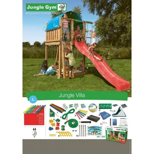 Jungle Villa - Sadržaj