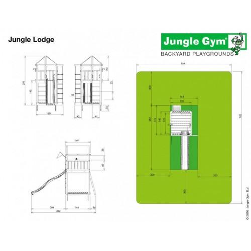 Jungle Lodge - Dimenzije