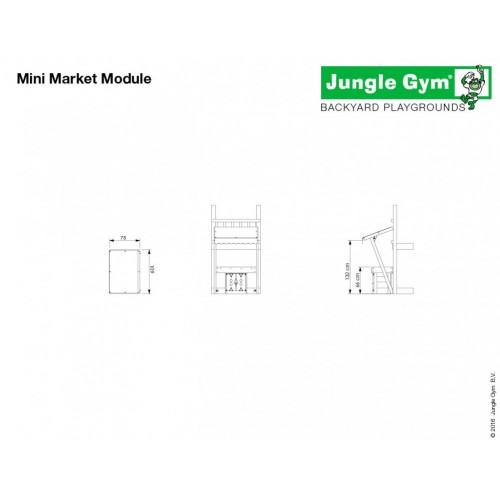 Mini Market Modul - Dimenzija