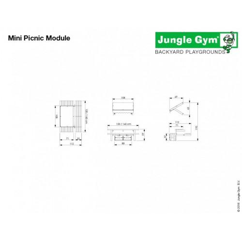 Mini Picnic Modul 120 - Dimenzija