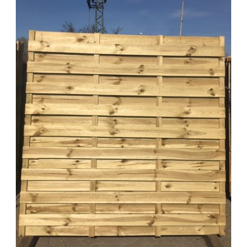 Drvena ograda Multi Classic, 8mm, ravna