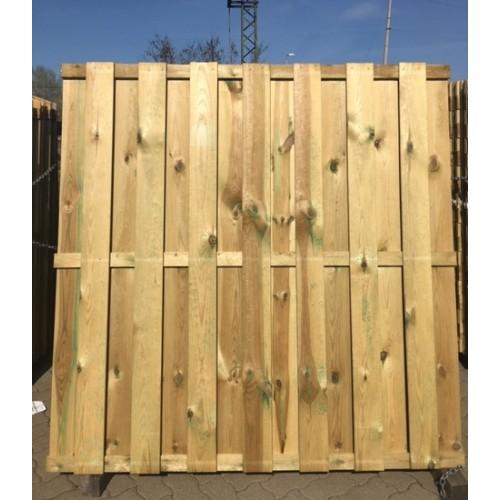 Drvena ograda Delux, 13mm, ravna