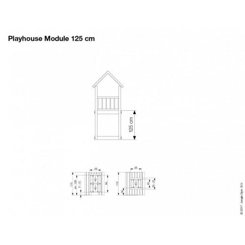 Playhouse Modul 125 - Dimenzija