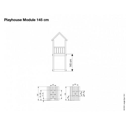 Playhouse Modul 145 - Dimenzija