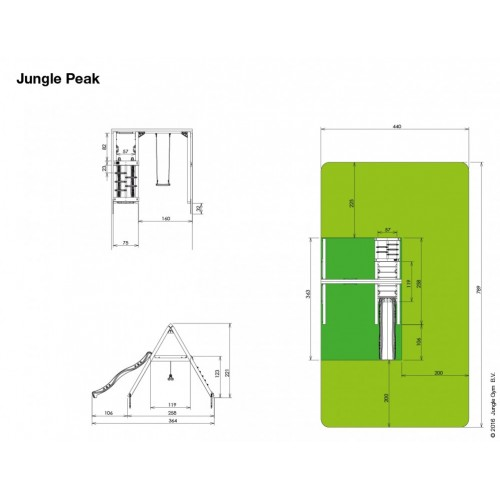 Jungle Peak - Nacrt