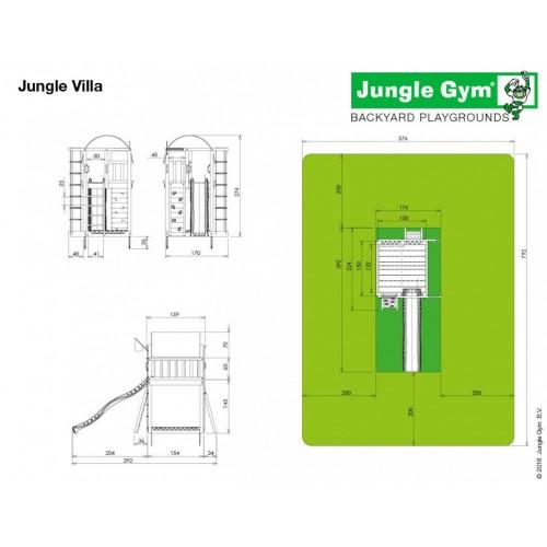 Jungle Villa - Dimenzije