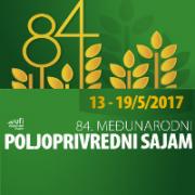 84. međunarodni POLJOPRIVREDNI SAJAM - Novi Sad 13-19/5/2017